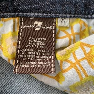 7 For All Mankind Jeans - 7 For All Mankind Chain Dojo's Size 27